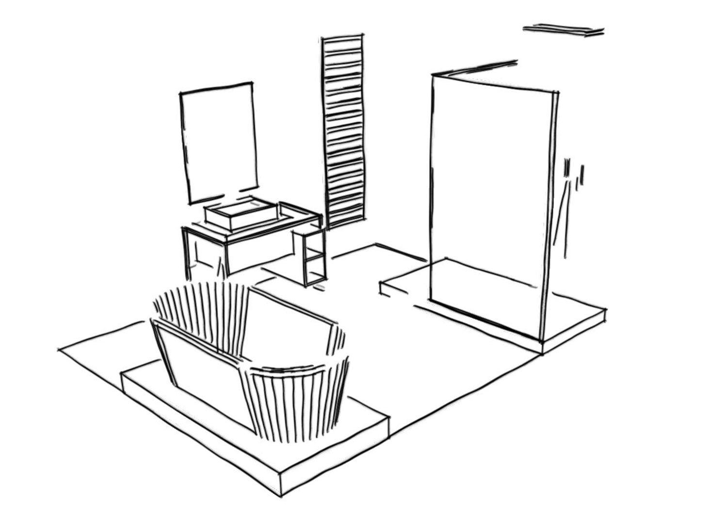 Une nouvelle salle de Bain avec Lapeyre ( partie 1)